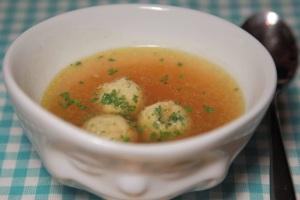 Markklößchen suppe1