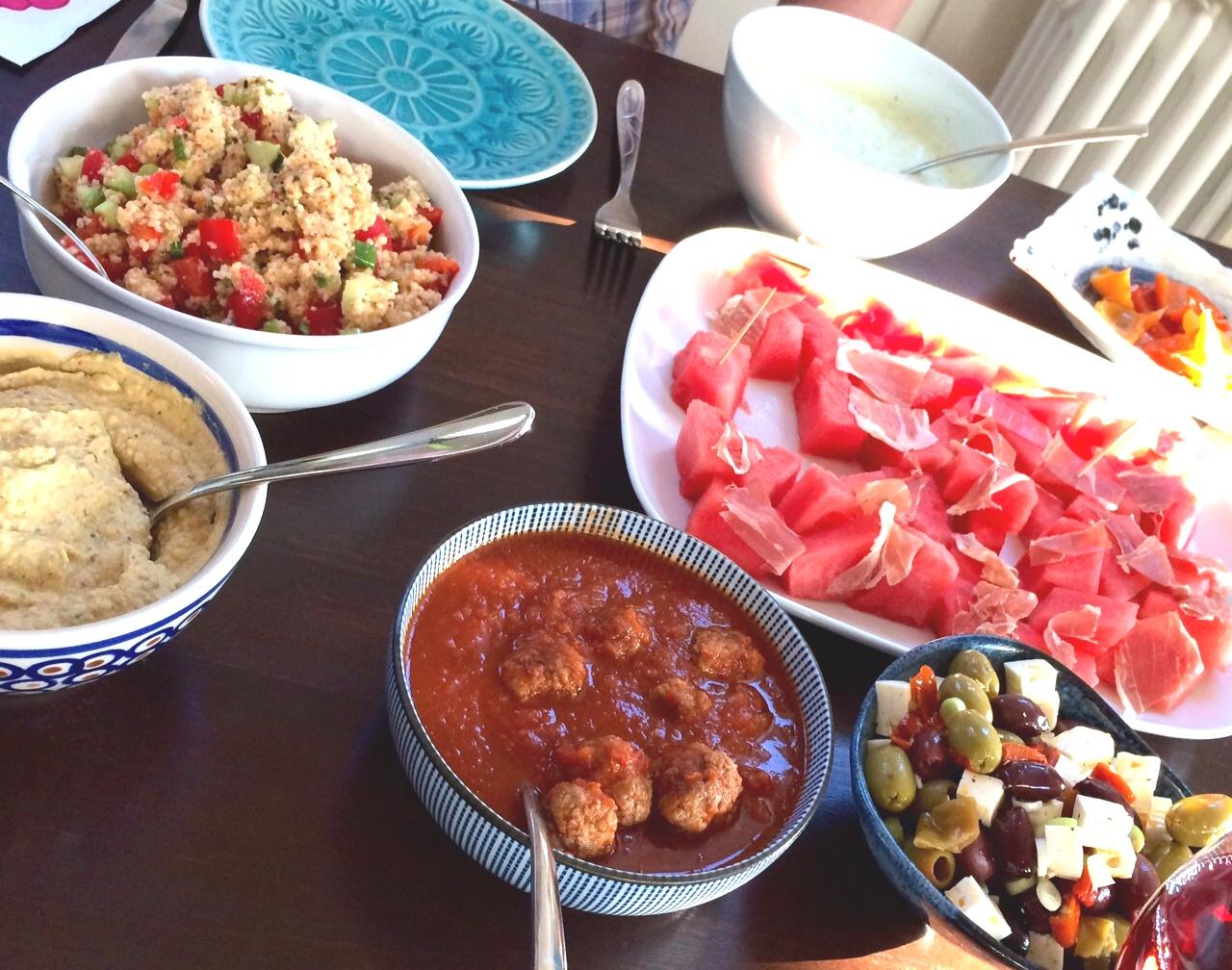 Tapas Albondigas Foodblog German Abendbrot