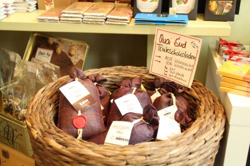 Hohe Qualität und fairer Handel sind im xocoatl wichtig.