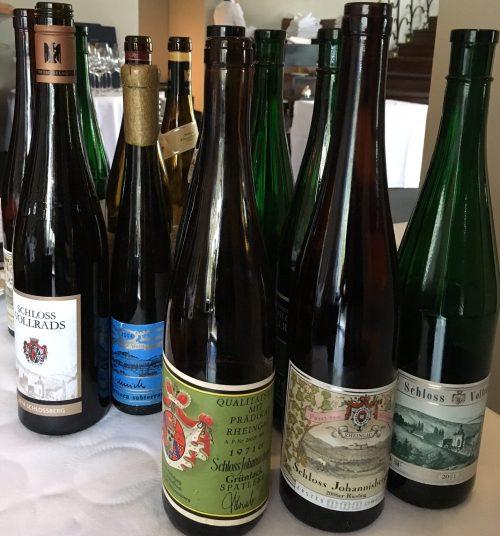 Riesling Schlösser and Friends Glorreiche Rheingau Tage Ente Wiesbaden