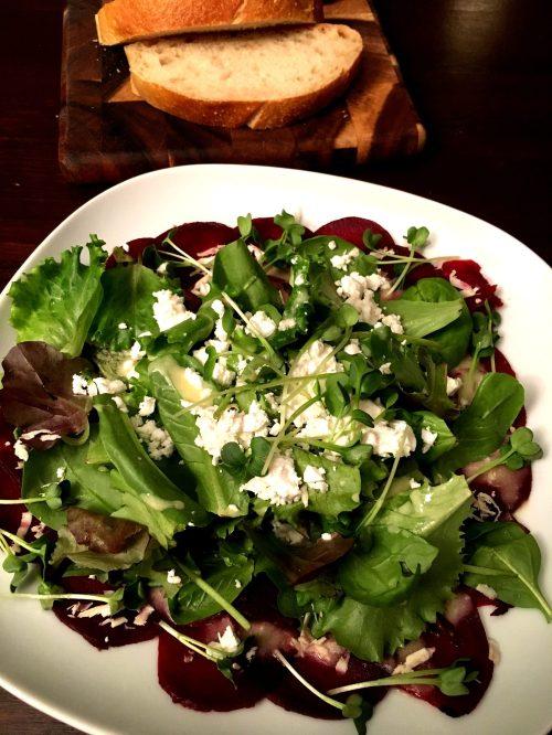 Winter Salat Wintersalat Meerrettich Rote Bete Foodblog German Abendbrot vegetarisch
