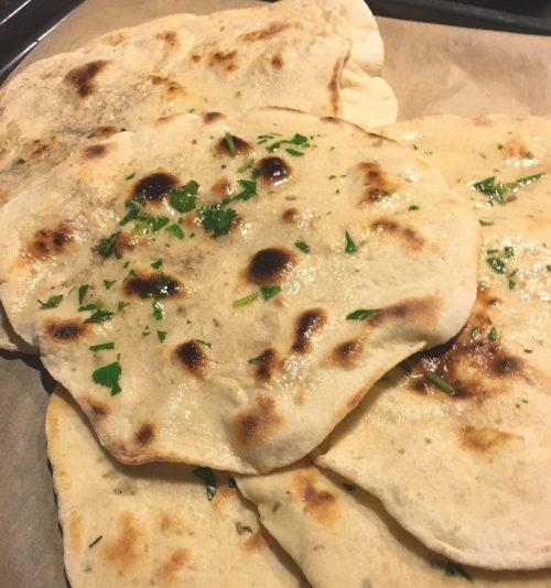 Naan Brot indisch Foodblog German Abendbrot