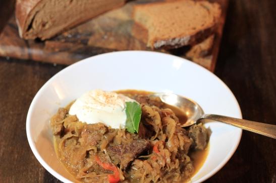 Szegediner Gulasch ungarisch Karoly Gundel Eintopf Foodblog German Abendbrot